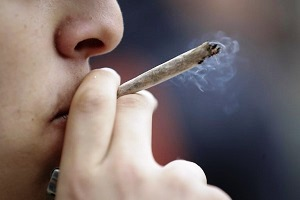 stordito dalla marijuana