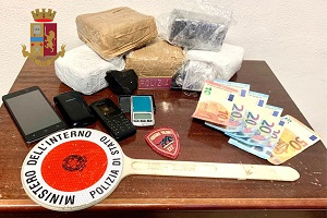arrestati due marocchini per detenzione e spaccio
