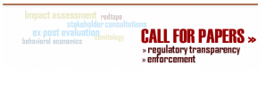 Abstracts. Call for paper on transparent rulemaking and enforcement