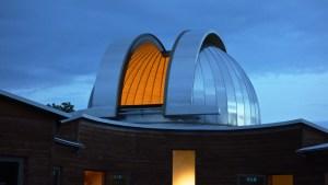 La cupola da 7 metri