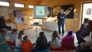 Didattica con Ruggero Stanga in una conferenza con le scuole elementari