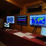 Sala monitor e centro di controllo e supervisione CeDAM