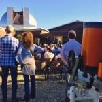 Inaugurazione 2017 del grande telescopio Marcon