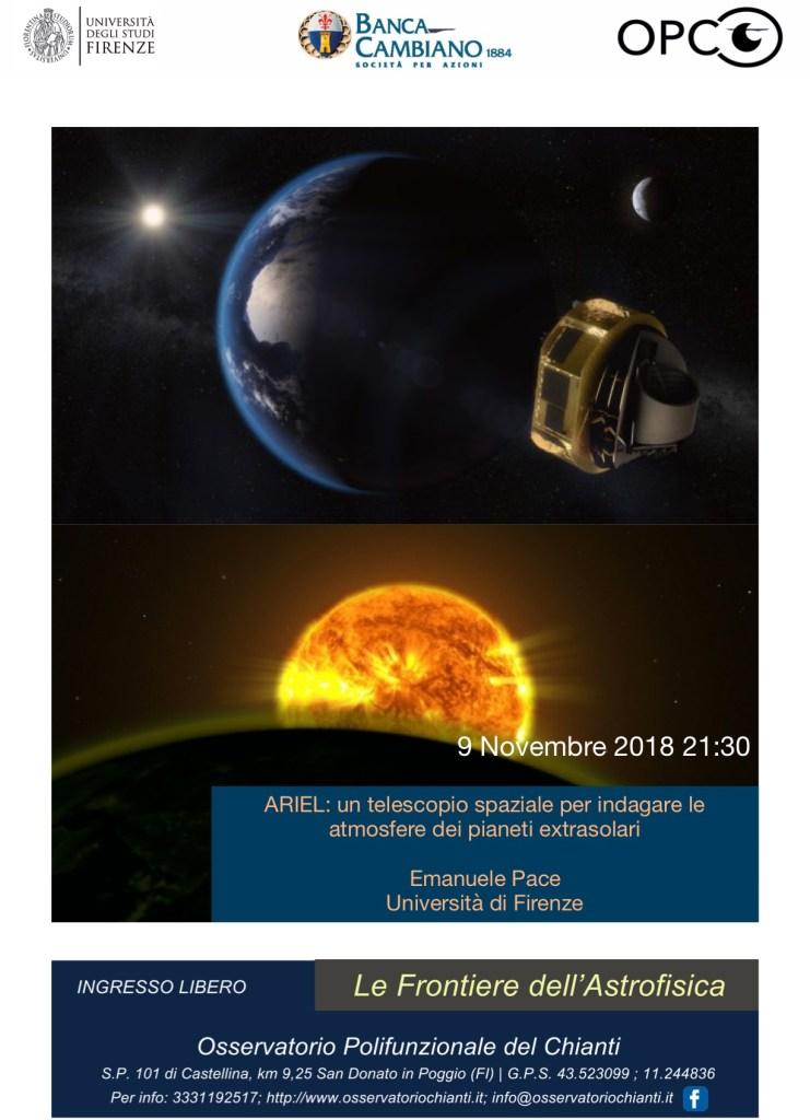 Ariel telescopio spaziale per indagare le atmosfere dei pianeti extrasolari