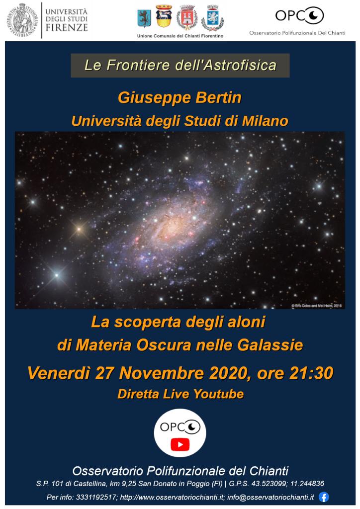 La scoperta degli aloni di materia oscura nelle galassie