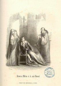 Héloïse et St Bernard