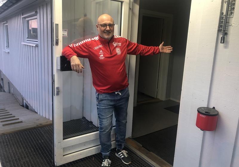 Tor Jansson Haddal klubbhus