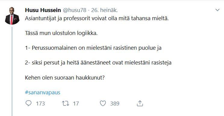 Husu Hussein Rasisti