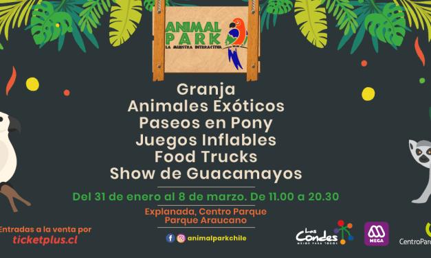 En la Explanada CentroParque: Debido al éxito de visitas, continúa Animal Park!