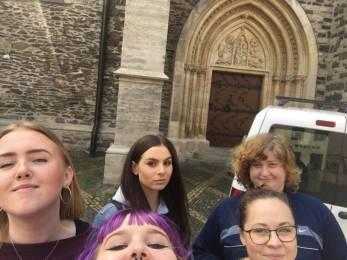 Selfie týmu - Bartoloměj
