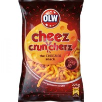 OLW CHEEZ CRUNCHERZ FLAMIN HOT 225G