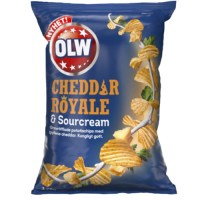 OLW CHEDDAR ROYALE & SOURCREAM 175 G