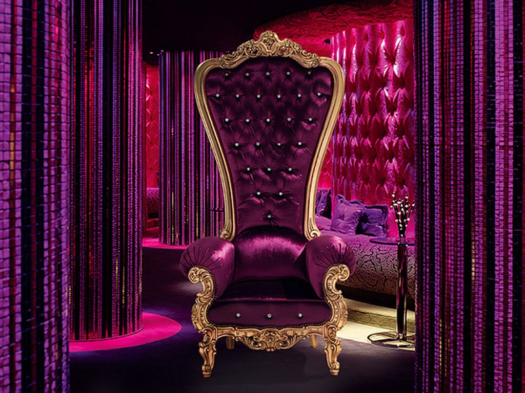 the chair king linen covers wedding color phychology purrr ple