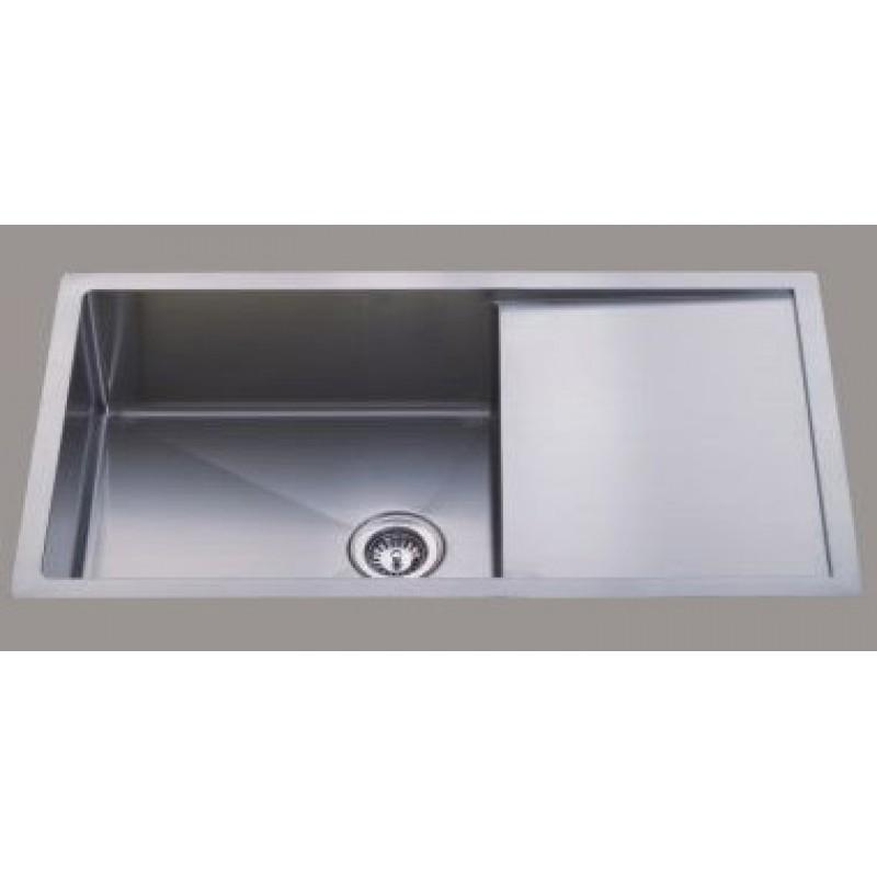 square kitchen sink refinished cabinets ostar bathroom ware sydney 02 9773 3788 melbourne 03 9706 7000 d22r 980 450 240mm