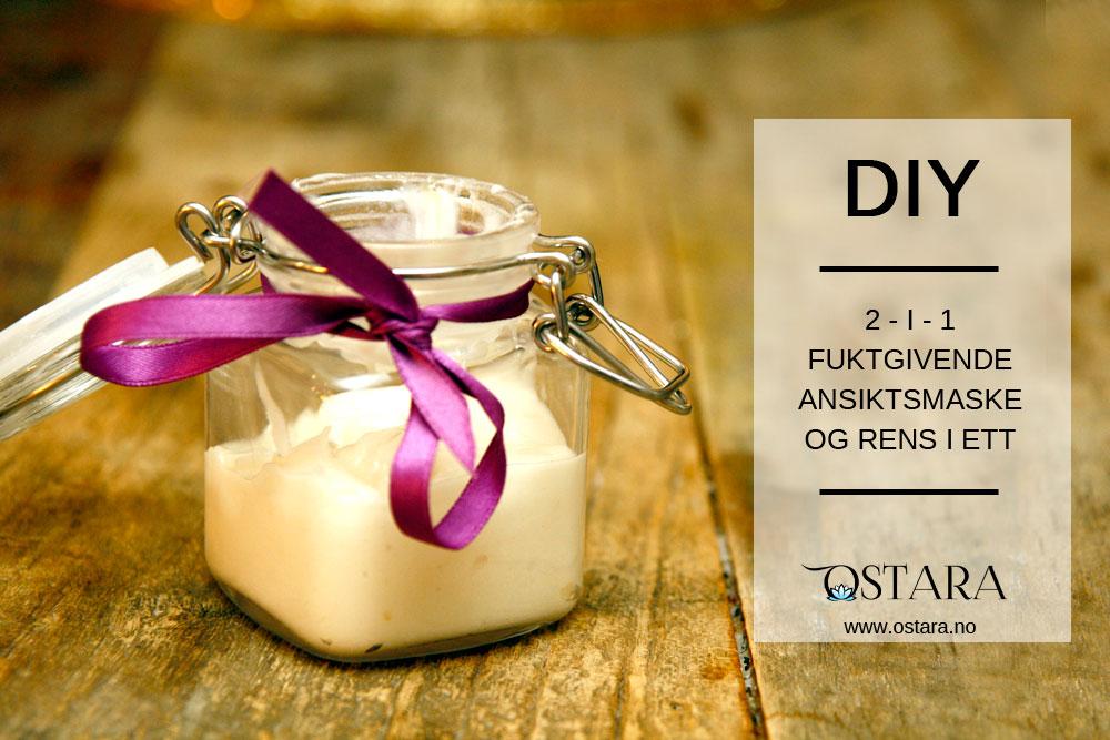 DIY: Ansiktsiktsmaske og rens med kokos og honning