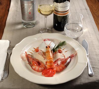 Gli antipasti di mare e di terra  ristorante pesce genova ristoranti pesce genova antipasti