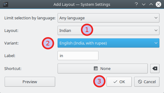How To Type Indian Rupee Sign (₹) In Linux