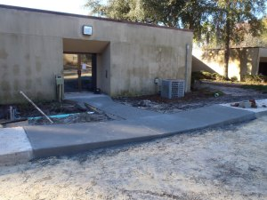 Concrete Handicap Ramp