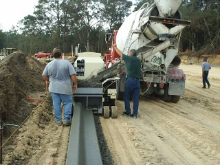 Concrete Curb Construction