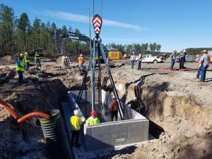 Construction Site Work - Underground Utilities