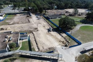 Chiefland Middle High School construction