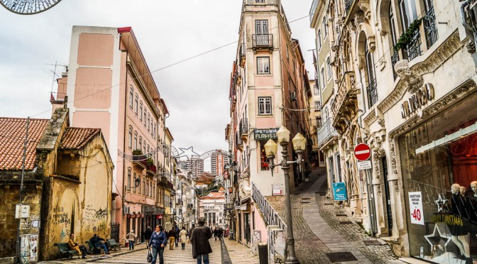 Streets of Coimbra