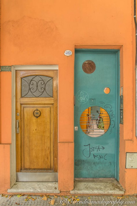 Doors in Palermo, Buenos Aires.