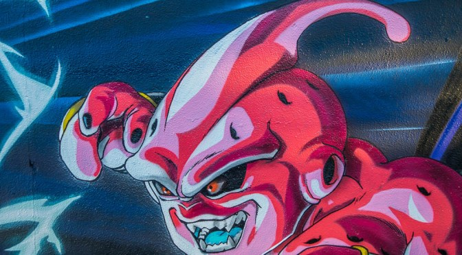 Street Art: Dragon Ball