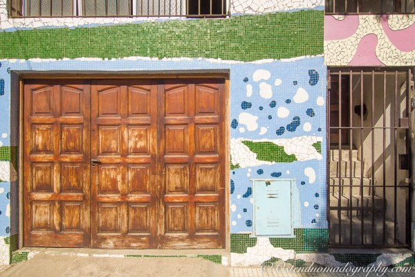 The Ceramic/Mosiac houses in Barracas (Buenos Aires, Arg.)