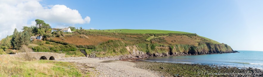 Fantastic sceneries along the Waterford Greenway