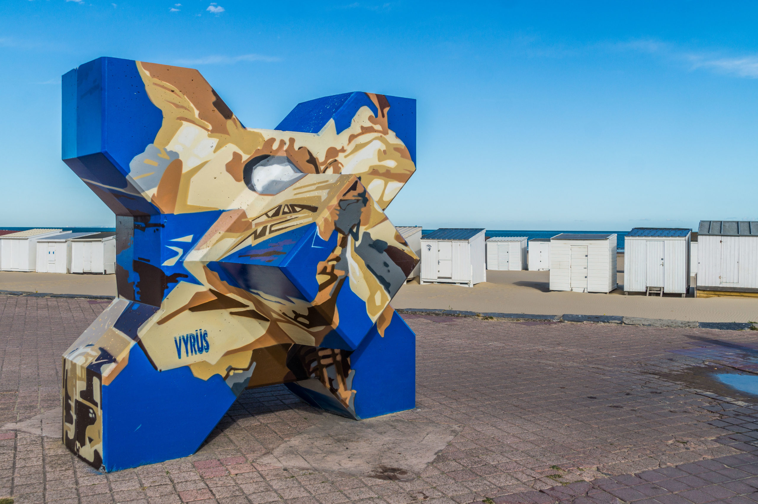 The Best Street Art Spots In  Calais