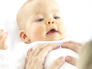 Osteopathie voor krampen bij baby's