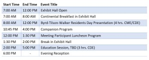 Southwest Society of Oral and Maxillofacial Surgeons Collaborative Meeting Schedule of Events Day 2
