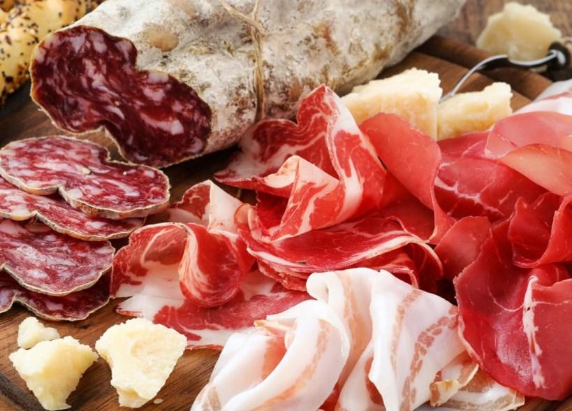 Osteria Parma Il Menu della Antica Ghiaia