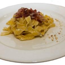 tagliatelle spek gorgonzola