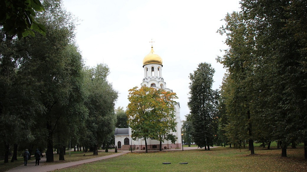 Orthodoxe Kirche in Kotelniki.