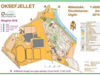 Permalink to: Kaffeposten for Skogtrim 10.juni på Oksefjellet