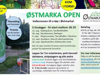 Permalink to: Østmarka Open