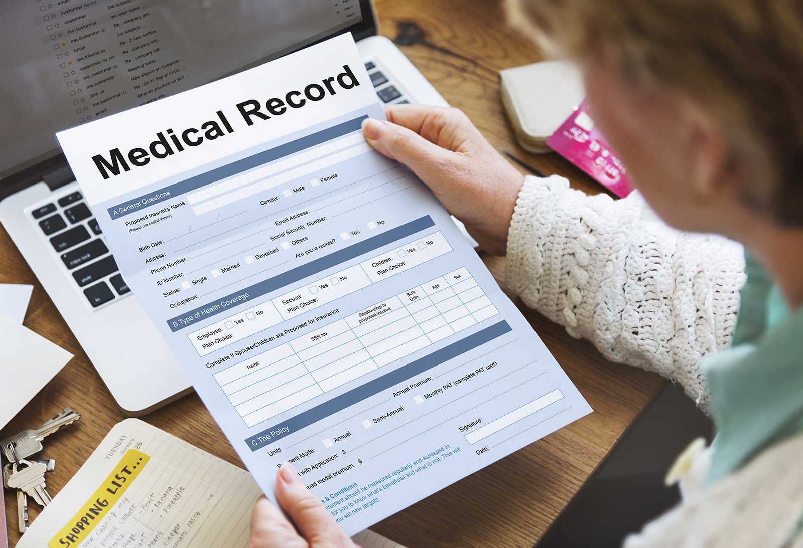purpose of medical records