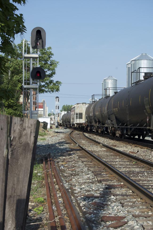 West Richmond siding details