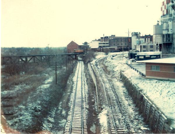 C&O, Penn Central interchange
