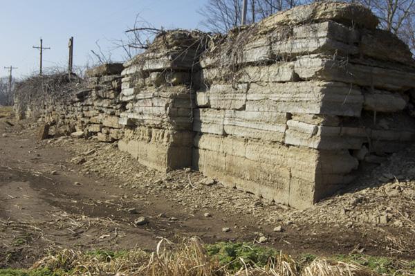 Massive stones at Berlin Locks