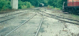 Former enginehouse leads, Brookville IN, early 2000s