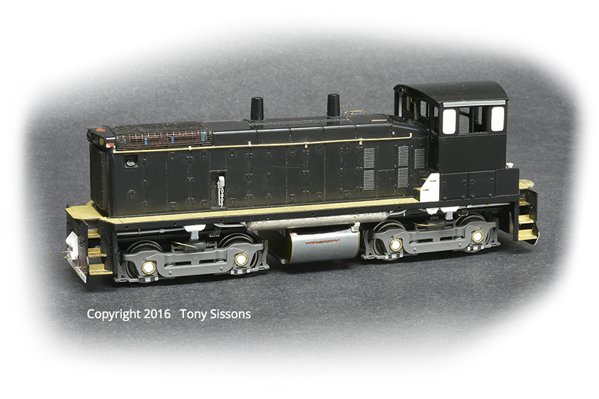 An Athearn SW1500 gets new life thanks to Tony Sissons