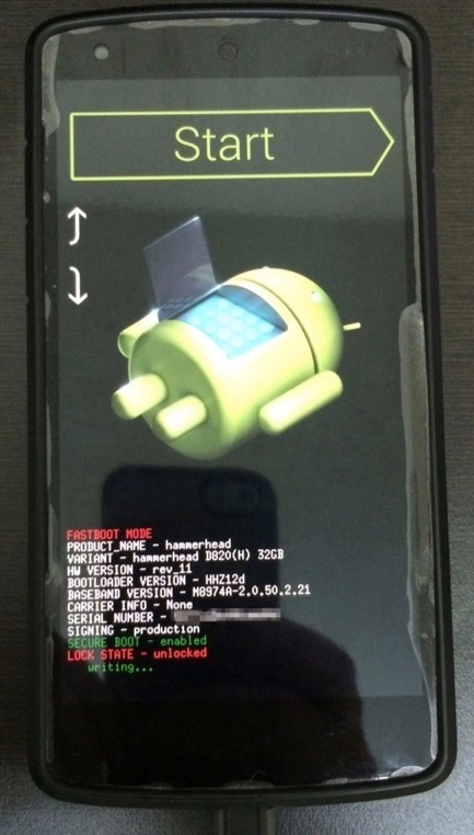 Upgrading My Nexus 5 to Lollipop | The Ostrich