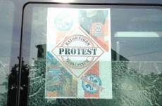 OBSADY KARETEK TEŻ PROTESTUJĄ