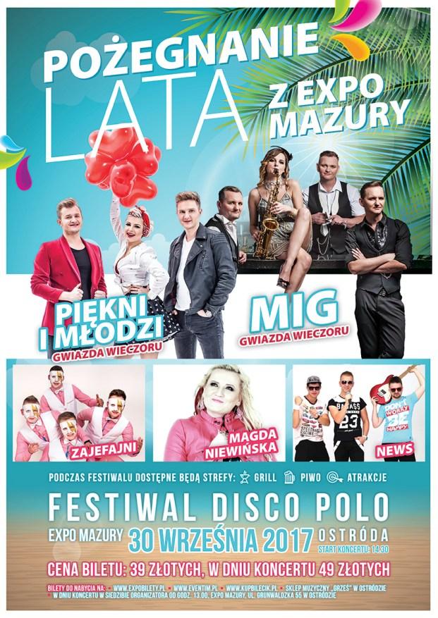 Plakat A3 - Disco Polo