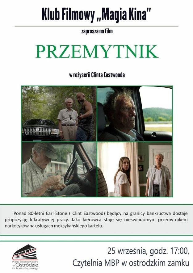 """KLUB FILMOWY """"MAGIA KINA"""" ZAPRASZA NA FILM """"PRZEMYTNIK"""""""