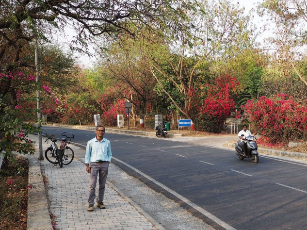 JNU campus (ring road)