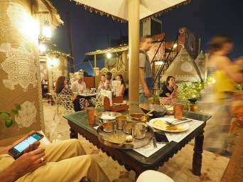 Jaipur open-air dinner